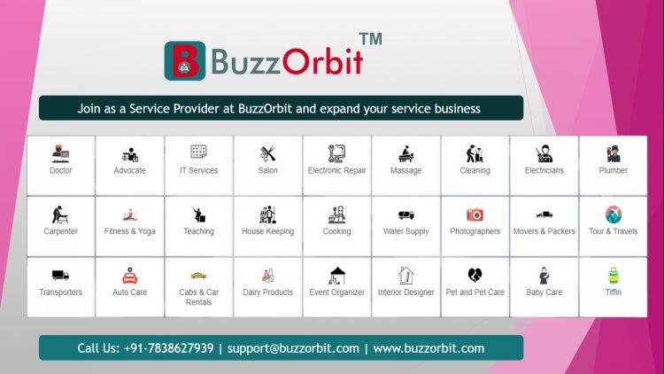 Join as a Service Provider at BuzzOrbit™