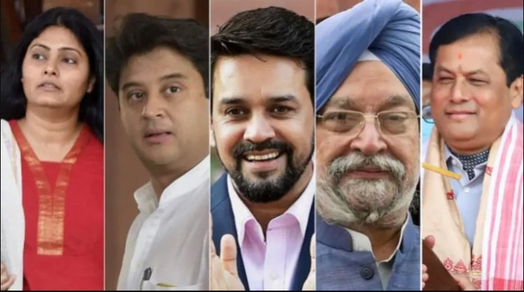 Who is the minister of which department in the new cabinet of PM Modi, here is the full list