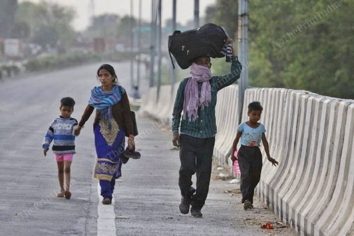 प्रवासी मजदूर लोग हमे कहते है by Pallav Kumar