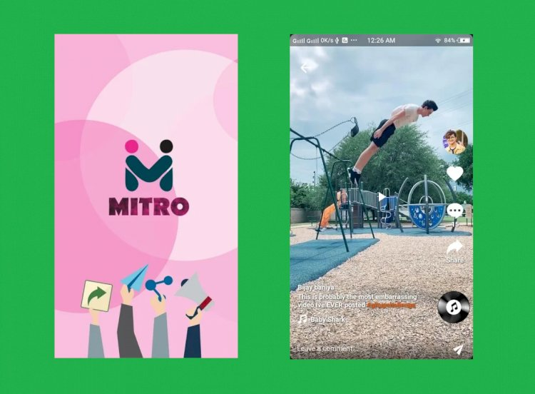 Mitro is a free app for Recording Short Videos and Social Networking Platform
